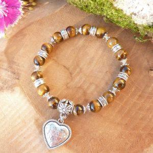 bracelet œil de tigre femme