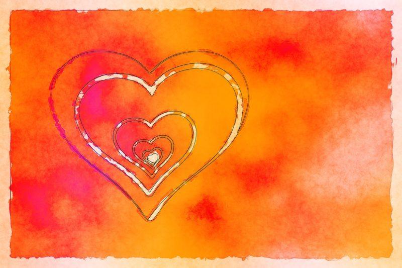 cœur orange chakra énergie vibratoire soin énergétique compassion bijoux pierre naturelle