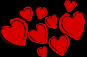 cœur amour rouge love couple amour amoureux fête st valentin