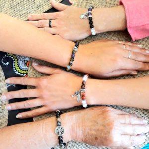 atelier bracelet énergétique unique en pierres